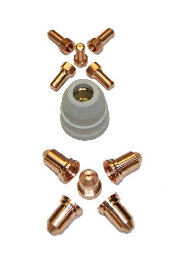 PT80 CONSUMABLES 11 PIECE SET (0.9mm TIPS)