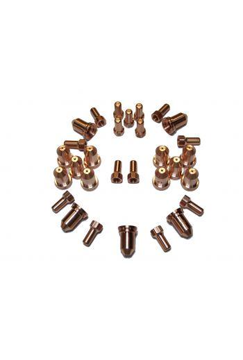 PT80 CONSUMABLES 30 PIECE SET (1.0mm TIPS)