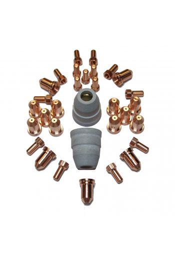 PT80 CONSUMABLES 32 PIECE SET (0.9mm TIPS)