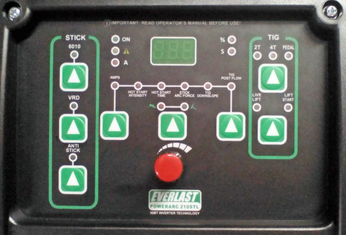 50% prijs grote verkoop veel modieus PowerARC 210STL